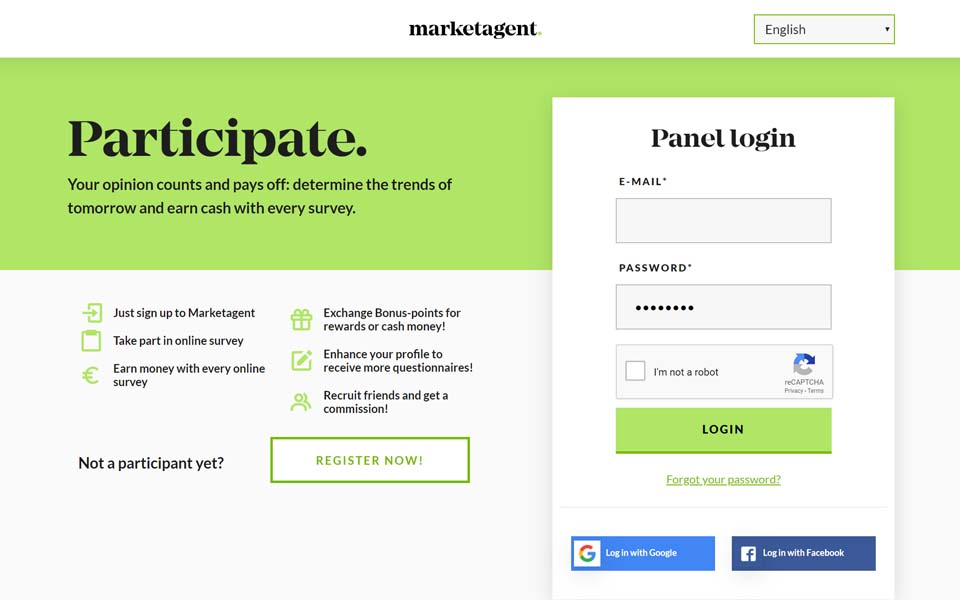 MARKETAGENT.COM – Not only your opinion counts and pays off!