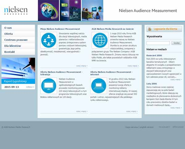 NIELSEN AUDIENCE MEASUREMENT