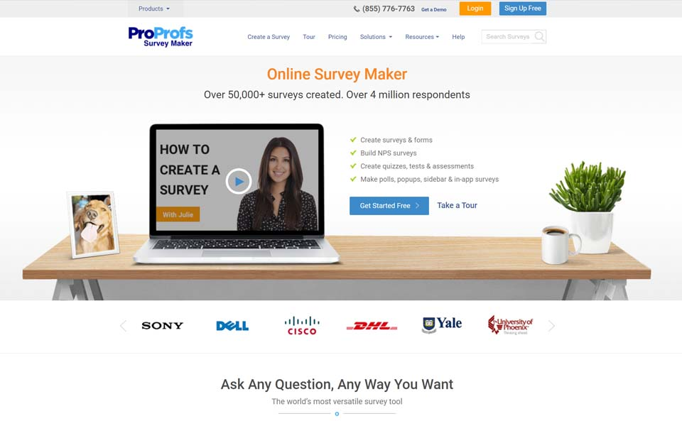 Want the best survey maker to easily capture customer feedback faster? Get ProProfs Survey Maker now!